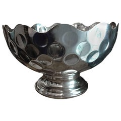 Mid-20th Century Silvered French Champagne Cooler Bowl