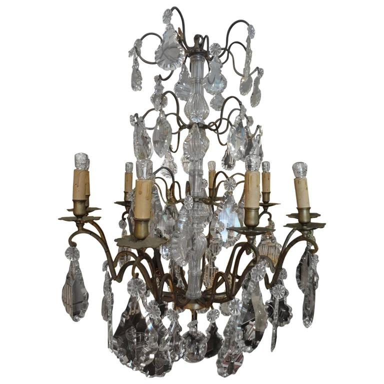 Late 19th Century French Chandelier For Sale