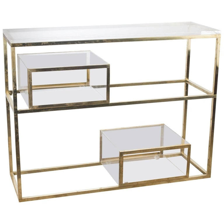 Library Console For Sale