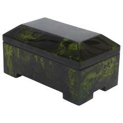 Enrique Garcel Lacquered Modern Decorative Box