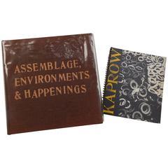 Allan Kaprow 'Assemblage, Environments & Happenings' Art Book, 1966