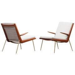 Peter Hvidt Lounge Chairs with Armrests 'C'