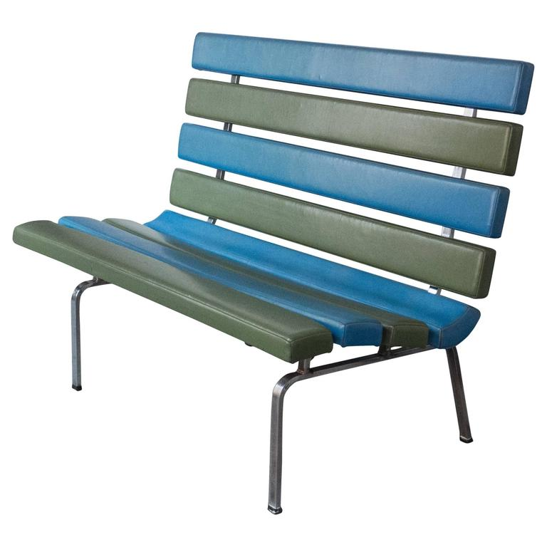 Gerald McCabe Slat Settee for Pacific Furniture