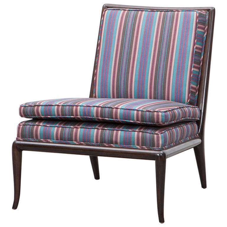 Single t h robsjohn gibbings lounge chair for sale at 1stdibs for Single lounge chairs for sale
