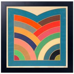 Large-Scale Color Lithograph by Frank Stella