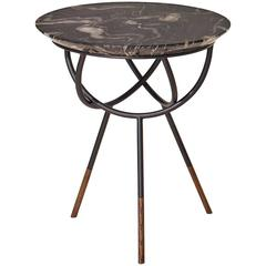 Atlas Bronze Side or End Table by AVRAM RUSU STUDIO