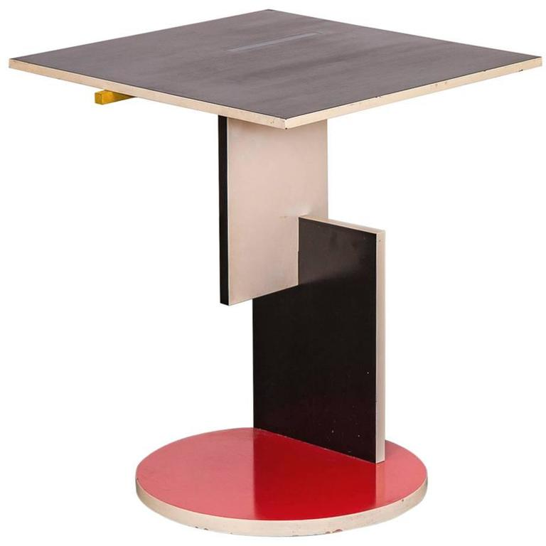 Extreem De Stijl Schroeder Table for Cassina at 1stdibs BF47