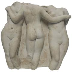 Female Goddesses Wall Art or Relief