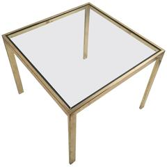 Milo Baughman for DIA 'Flat Bar' Occasional Table