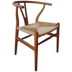 "Early Hans Wegner for Carl Hansen Wishbone ""Y"" Chair"