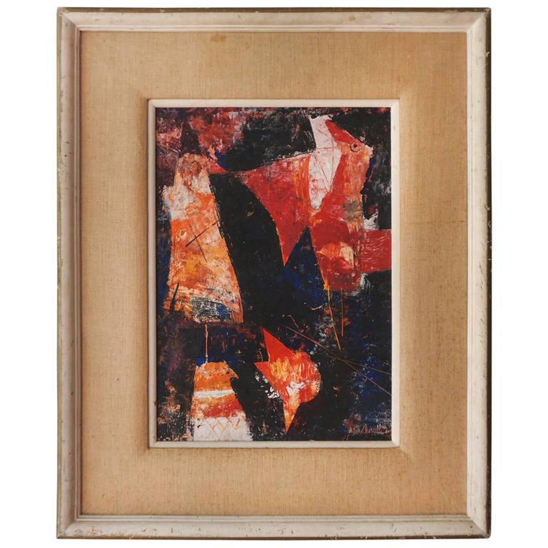 Abstract Bird Painting, 1960
