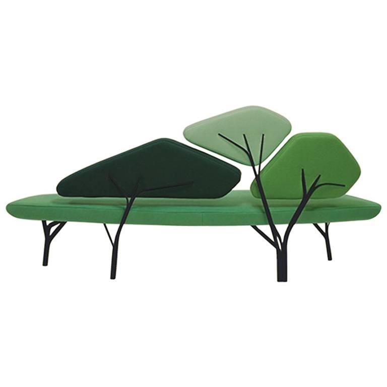 Green Borghese Sofa, Noé Duchaufour Lawrance For Sale