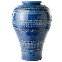 Turquoise Vase by Aldo Londi