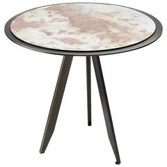'Sunset' Pink Side Table