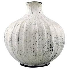 Svend Hammershøi for Kähler, Denmark, Glazed Vase, 1930s