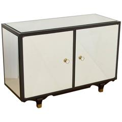 Mirrored French Art Deco Cabinet