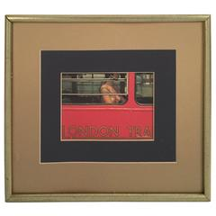 Framed Photograph of Topless Woman by Sam Haskins