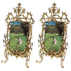 Two Historistic Picture Frames, circa 1890s