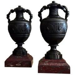 19th Century Neoclassical Urns