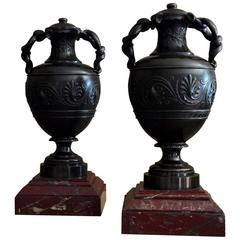 19th Century Neoclassical Urns