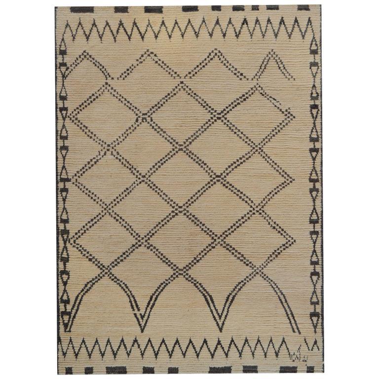Vintage Moroccan Deco Rug