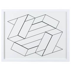 "Screen-Print from ""Formulation: Articulation Portfolio II"" by Josef Albers"