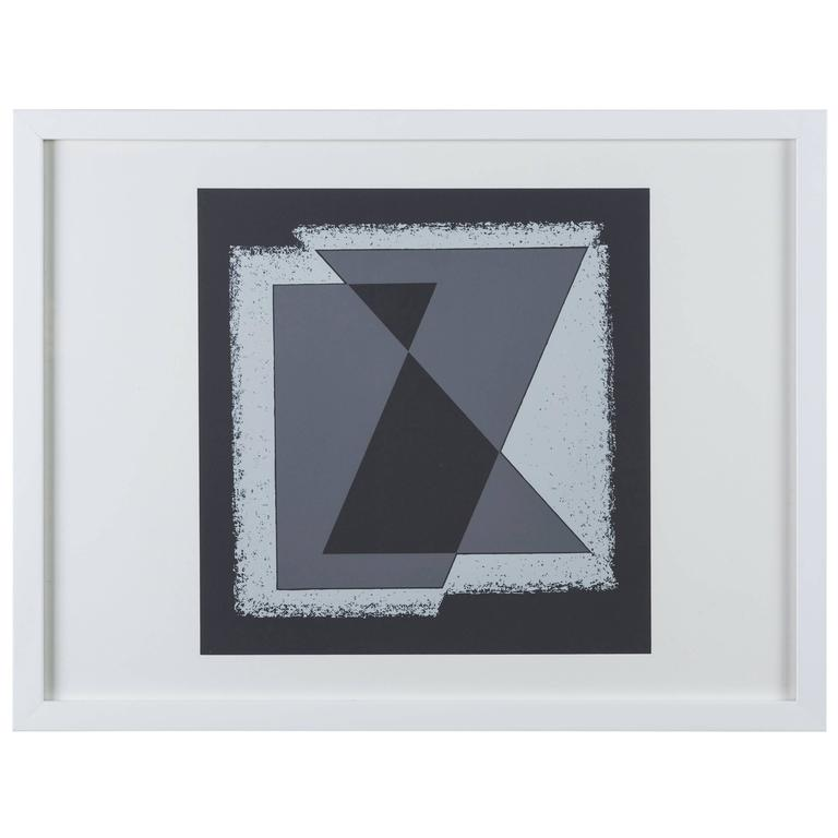 "Screen Print from ""Formulation: Articulation Portfolio II"" by Josef Albers For Sale"