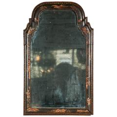 Rare Queen Anne Wall Mirror of Small Size