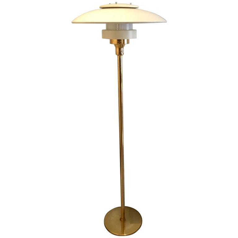 Brass Floor Lamp, Model 1585, by Light Studio by Horn