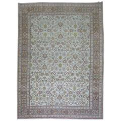 Shabby Chic Ivory Ground Persian Rug