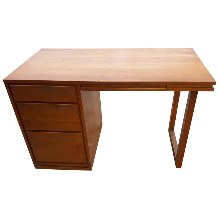 Russel Wright by Conant Ball Mid-Century Modern Birch Desk