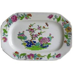 Late Georgian, Spode Platter, Ironstone, Willis Pattern No. 2148, circa 1825