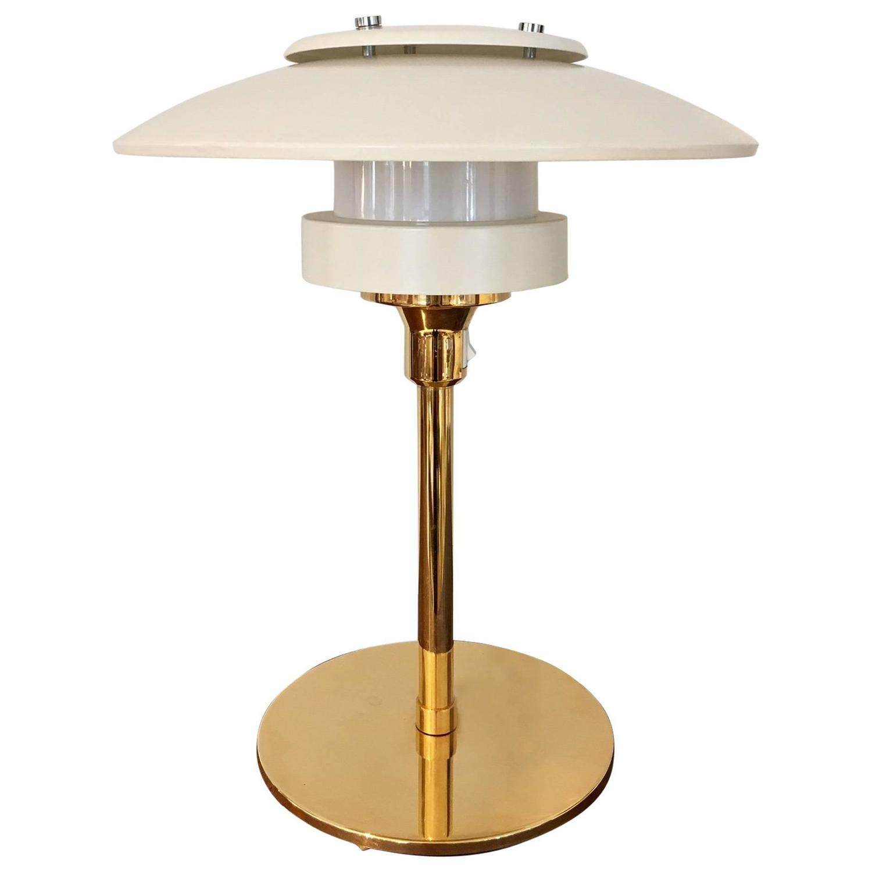 nicolaj diulgheroff enameled metal and brass table lamps