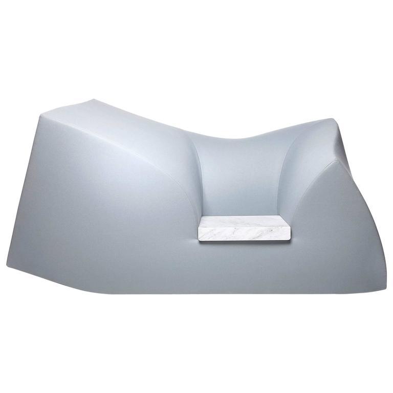 Moooi Compression Sofa with Carrara Marble Seat