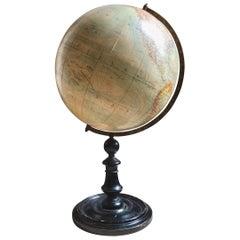 20th Century Terrestrial Globe by Peter J. Oestergaard