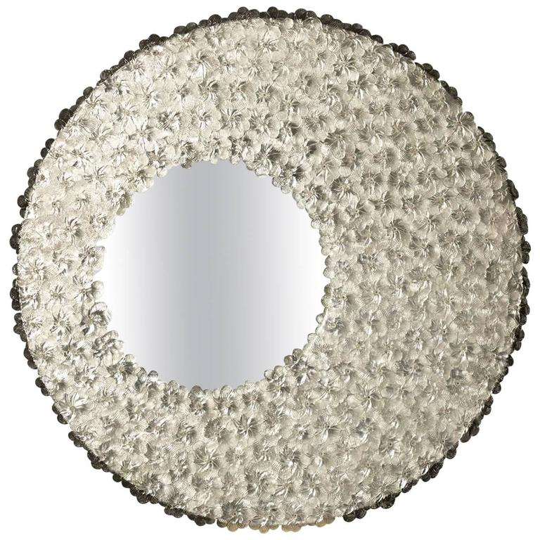 Sole Venetian Glass Mirror