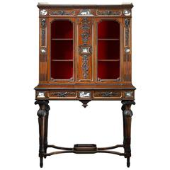 19th Century English Etruscan-Style Cabinet