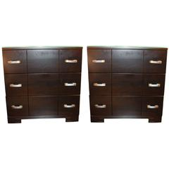 Pair of Bedside Chests
