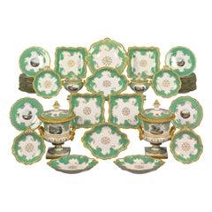 Worcester Porcelain Dessert Service
