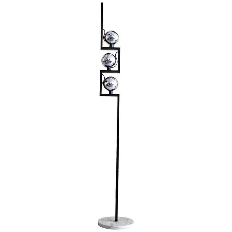 1960s Angelo Lelli Floor Lamp for Arredoluce, Italy For Sale