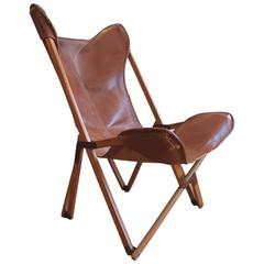 Very Rare Original 'Tripolina' Chair by Joseph Fendy for Paolo Viganò, Signed