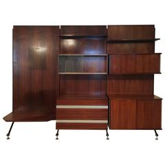 Mid-Century Modern Shelves and Wall Cabinets