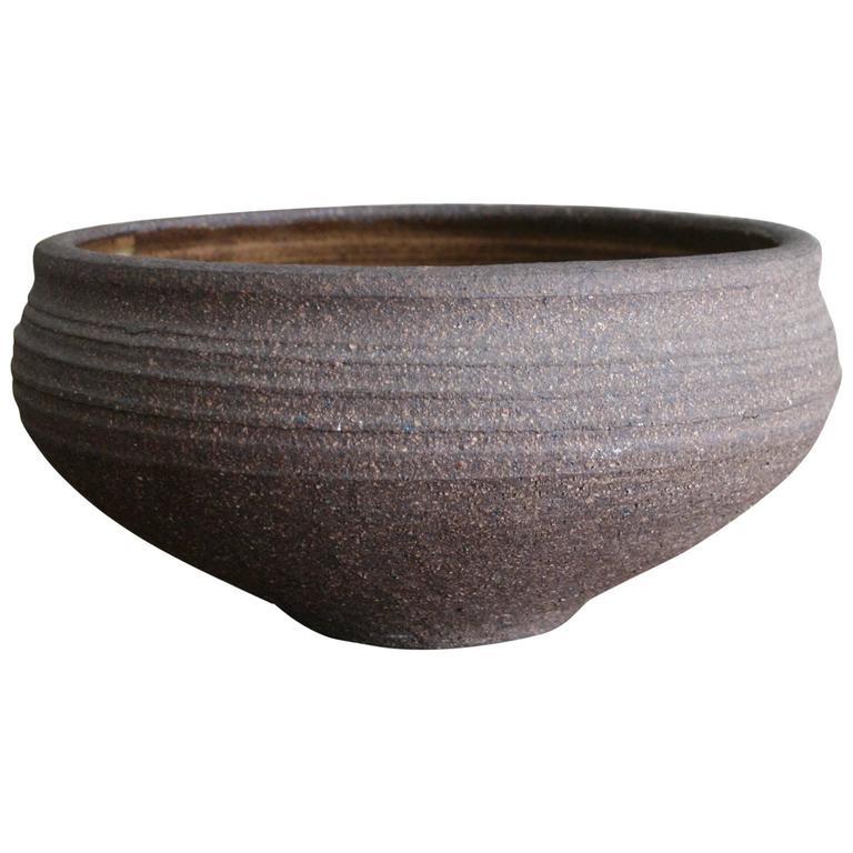 1960s Karen Karnes Hand Thrown Ceramic Bowl