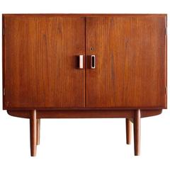 Small Teak Entry Cabinet or Console by Børge Mogensen Soborg Mober