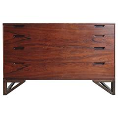 Mid-Century Svend Langkilde for Illums Bolighus Rosewood Chest of Drawers