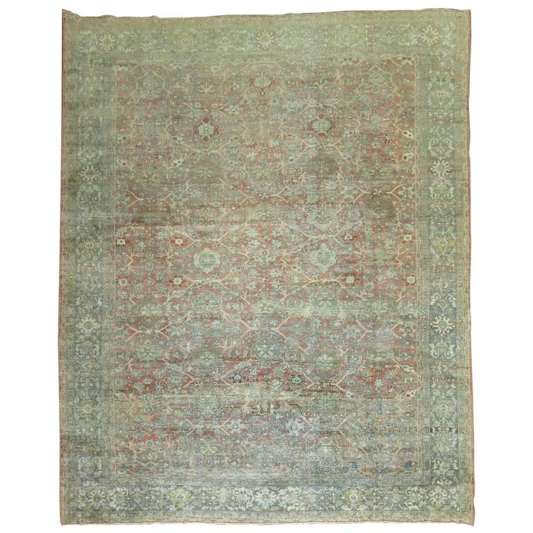 Shabby Chic Persian Mahal Carpet 1