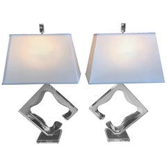 Pair of Van Teal Table Lamps