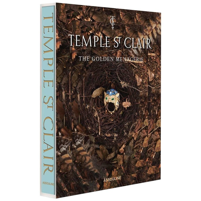 """""""Temple St. Clair: The Golden Menagerie"""" Book For Sale"""