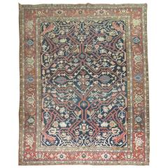 Antique Persian Serapi Rug At 1stdibs