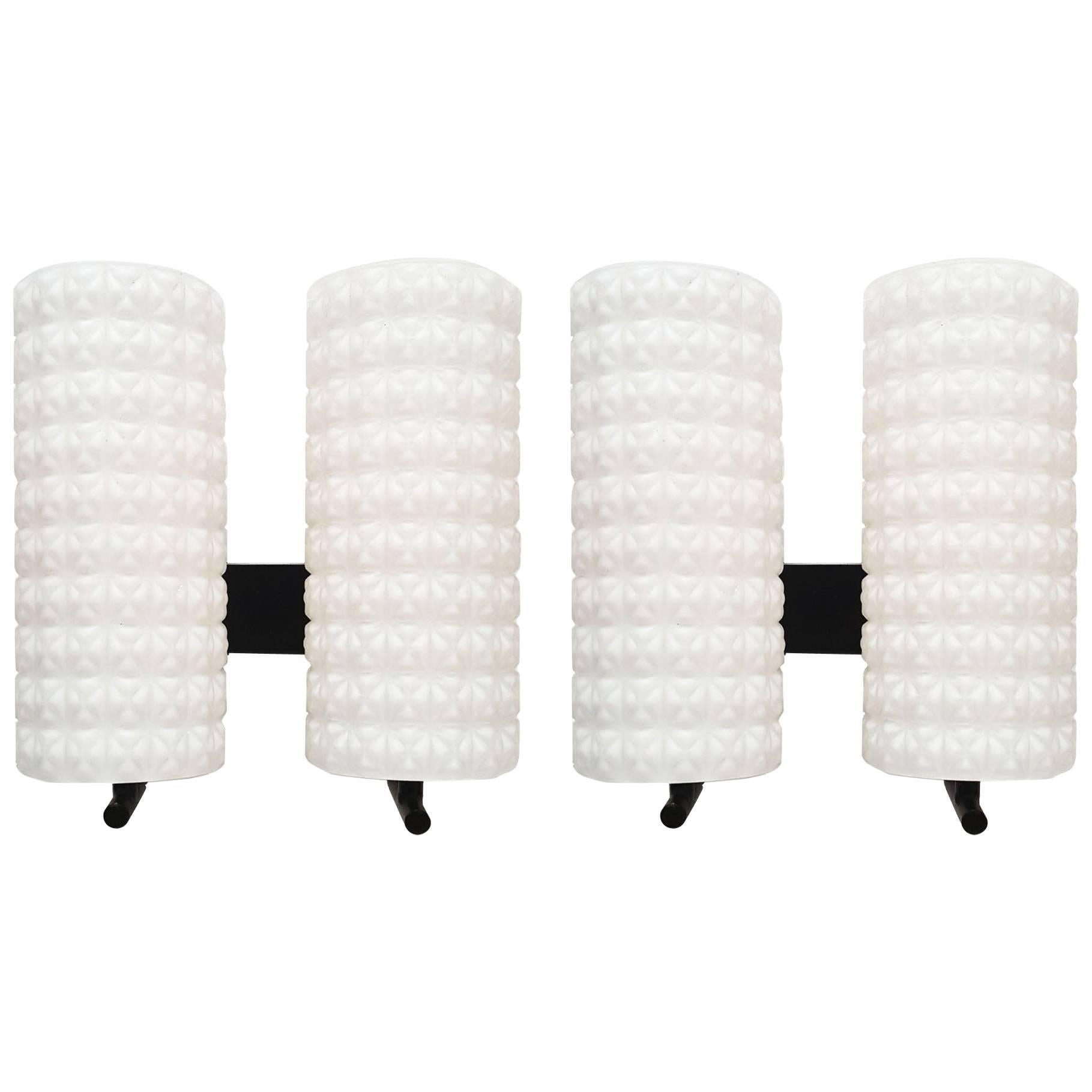 Modernist French Pair of Sconces